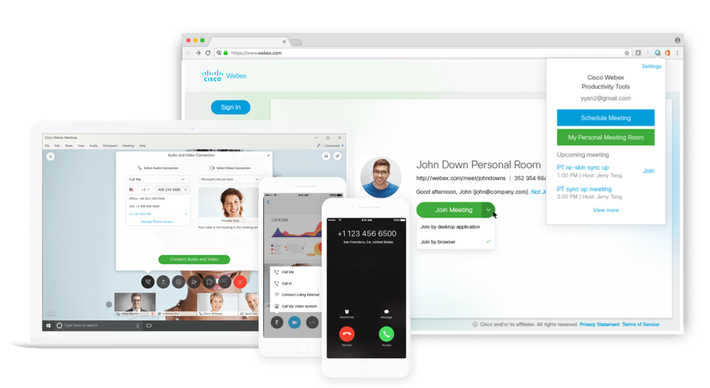 By Photo Congress || Webex Productivity Tools Compatibility